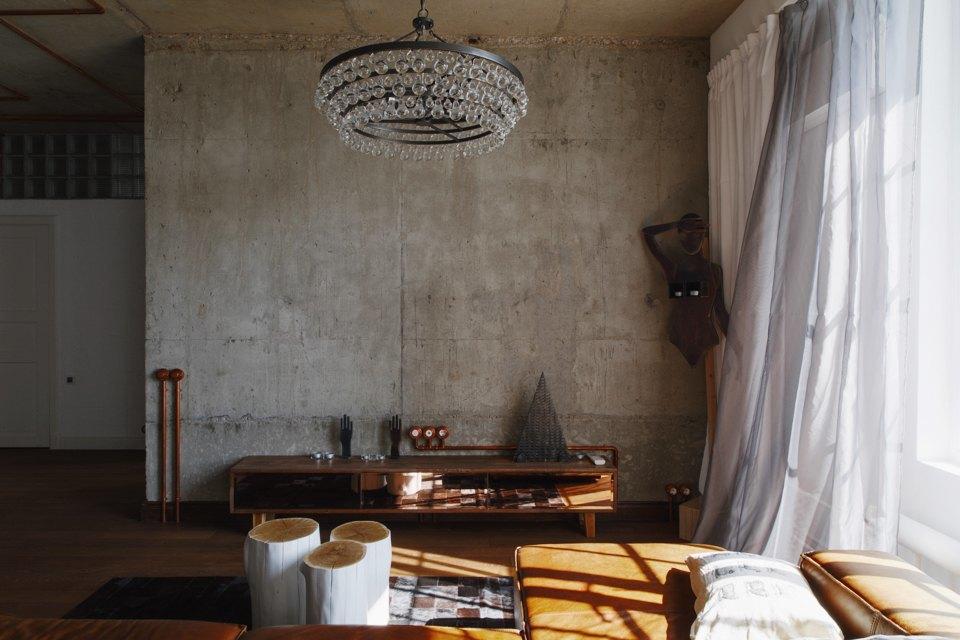 Трёхкомнатная квартира виндустриальном стиле. Изображение № 17.