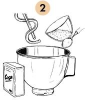 Рецепты шефов: Паста из «Бородинского» хлеба с хлопьями копченого судака. Изображение № 7.