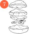 Рецепты шефов: Бургер сфалафелем. Изображение № 9.