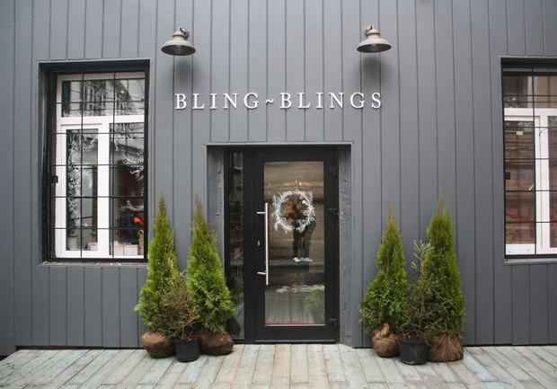 На «Курской» открылся магазин косметики и украшений Bling Blings. Изображение № 1.