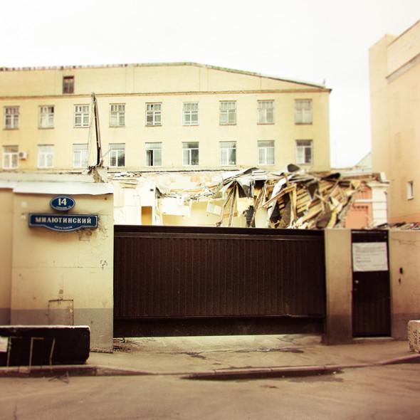 В зоне риска: Флигель фабрики в Милютинском переулке. Изображение № 8.