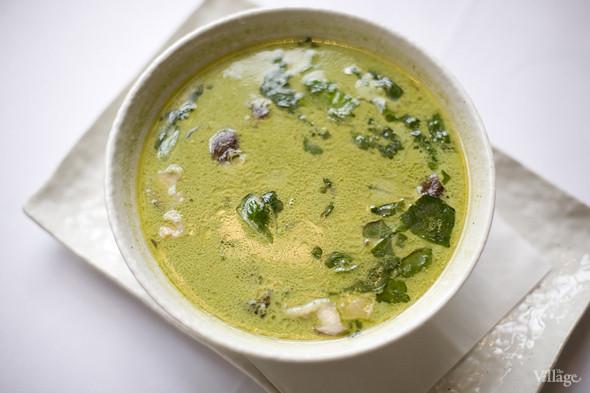 «Тайский суп с морепродуктами» в ресторане «The Сад». Изображение № 31.