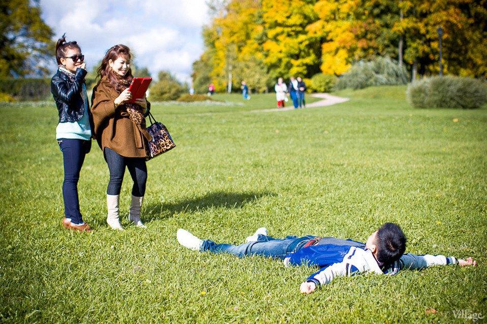 Люди в городе: Любительские фотосессии в парке. Изображение № 8.