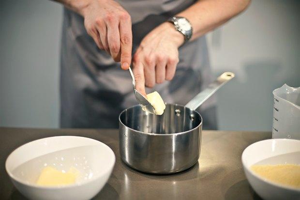 Шеф дома: Ягненок, хумус иоблепиховый десерт шефа «Стрелки». Изображение № 21.