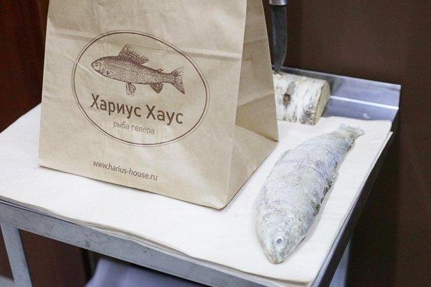 На «Соколе» открылась лавка с сибирской рыбой. Изображение № 1.