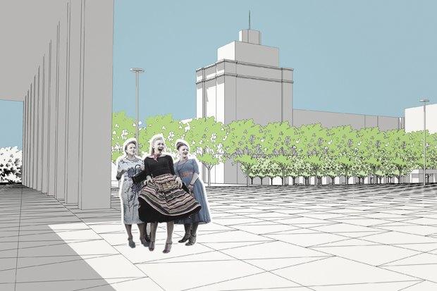 Директор Buromoscow обудущем Триумфальной площади. Изображение № 3.