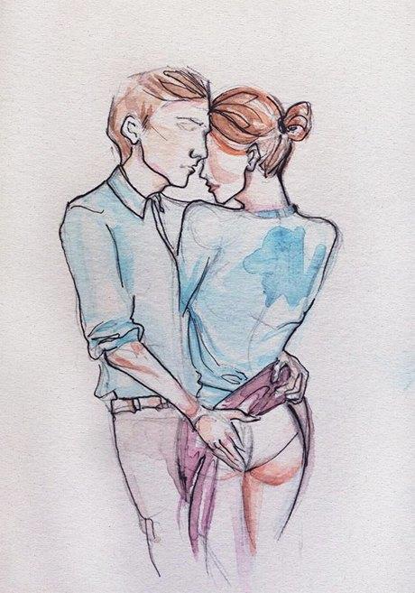 Влюблённые пары на улицах Москвы. Изображение № 3.