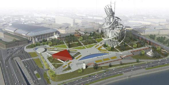 Москомархитектура выбрала 118 проектов парка в Зарядье. Изображение № 42.