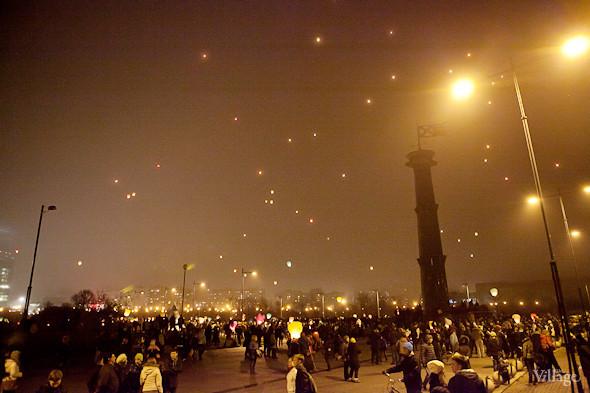 Фоторепортаж: Флешмоб с китайскими фонариками. Изображение № 18.