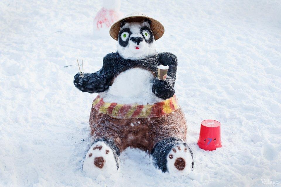 Люди в городе: «Арт-битва снеговиков». Изображение № 18.