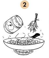Рецепты шефов: Ножка кролика, тушеная с грибами. Изображение № 5.