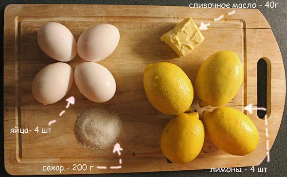 Лимонный крем. Изображение № 1.