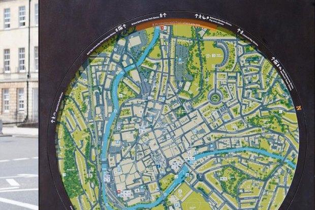Система навигации в Бате (Великобритания) City ID, 2009. Изображение № 6.