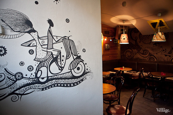 Новое место (Петербург): 360 Riders Bar. Изображение № 1.