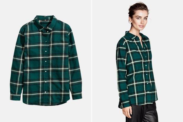 738335d71b2 Где купить женскую рубашку в клетку  9 вариантов от одной до семи тысяч  рублей.