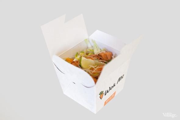 Тайский салат с манго и ореховым соусом — 190 рублей. Изображение № 4.