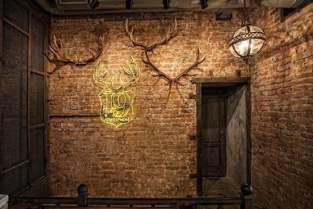 На месте «Голубки» наПокровке открылся бар 19 Bar&Atmosphere. Изображение № 2.