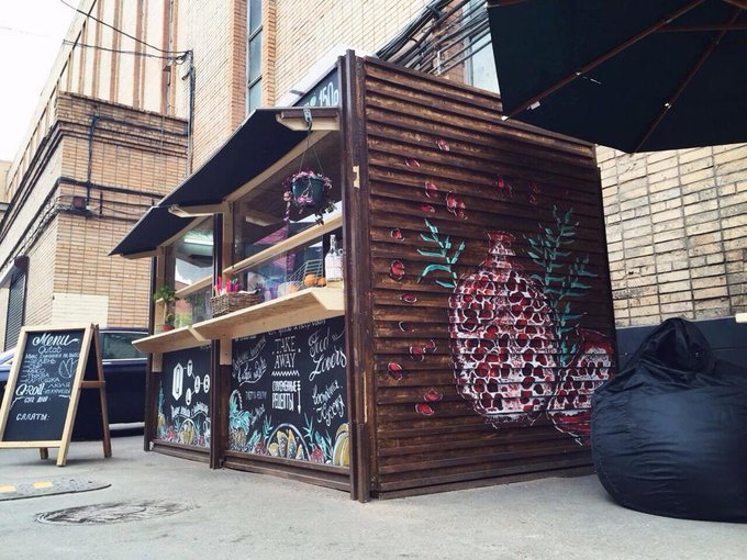 На Трёхгорной мануфактуре открылось кафе Q-tabLab. Изображение № 2.