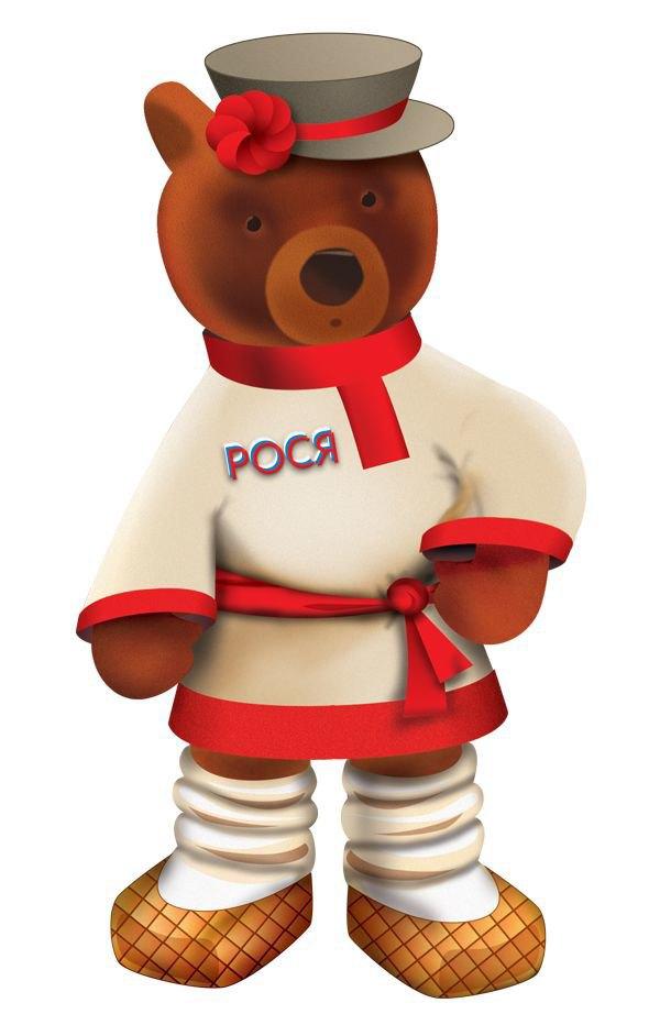 Медвежонок Рося — символ Центрального детского магазина наЛубянке. Изображение № 1.