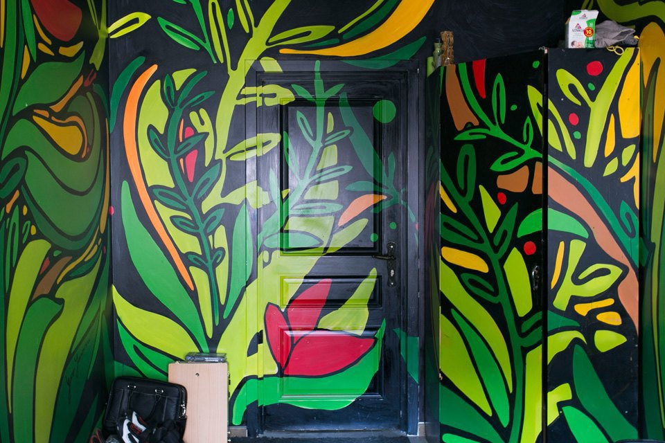 Квартира художника смансардой. Изображение № 16.