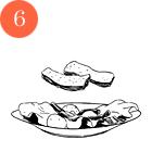 Рецепты шефов: Тёплый салат изутиной грудки магре. Изображение № 8.