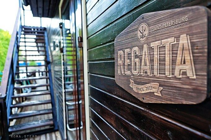 Ресторан надебаркадере Regatta открылся наАптекарской набережной . Изображение № 1.