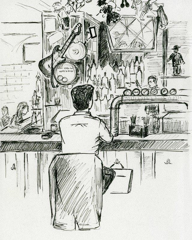 Клуб рисовальщиков: Бар «Куклы пистолеты». Изображение № 5.