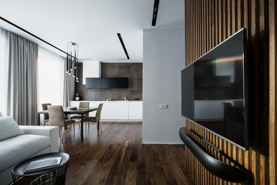 Минималистичная квартира для семьи, живущей зарубежом . Изображение № 3.