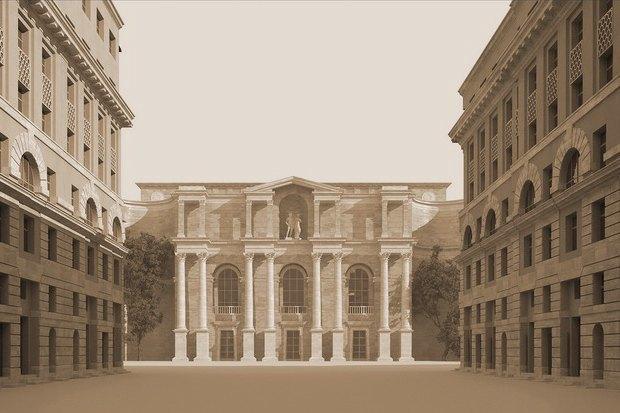 Суд идёт: четыре проекта квартала на месте «Набережной Европы». Изображение № 8.