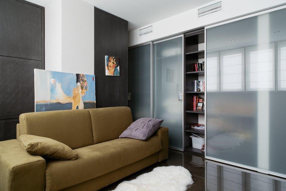 Трёхкомнатная квартира сэклектичным интерьером. Изображение № 13.