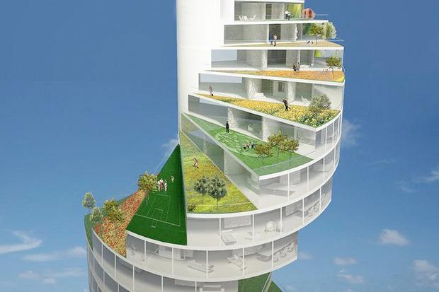 Иностранный опыт: 8 фантастических городских проектов. Изображение № 15.