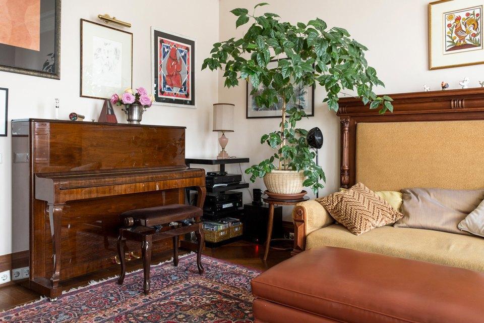 Трёхкомнатная квартира  сантиквариатом наЧистых прудах. Изображение № 3.