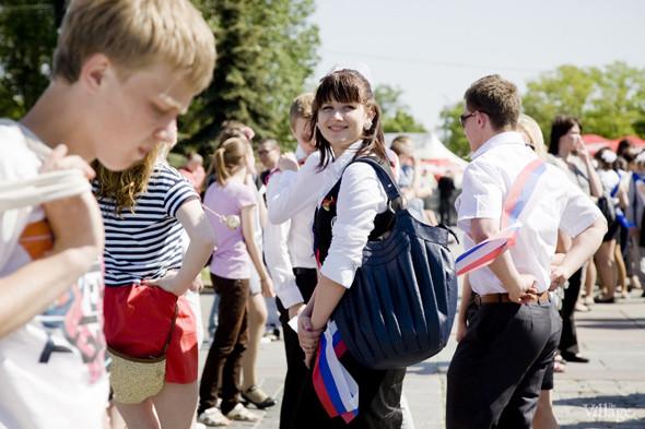 Изображение 43. Фоторепортаж: Последний звонок в Москве.. Изображение № 34.