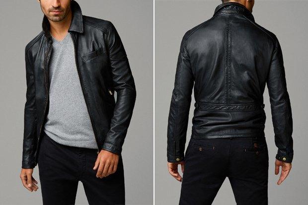 Где купить мужскую кожаную куртку  9 вариантов от 7 до 70 тысяч рублей.  Изображение 9f92e2d4ef9d9