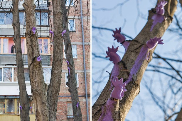 Киев — Петушки: Новый вид городского стрит-арта. Изображение № 20.