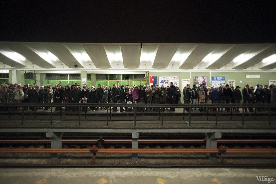 Фоторепортаж: Час пик на станции «Выхино». Изображение № 7.