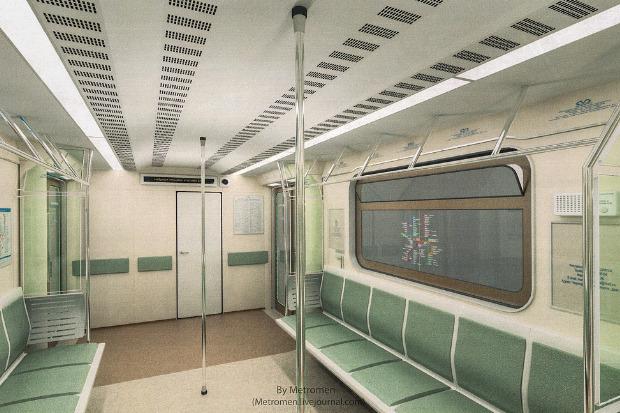 Дизайнеры предложили Метрополитену проект новых вагонов. Изображение № 7.