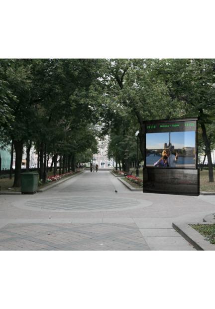 Городские часы: Версия художника Максима Ксуты. Изображение № 25.