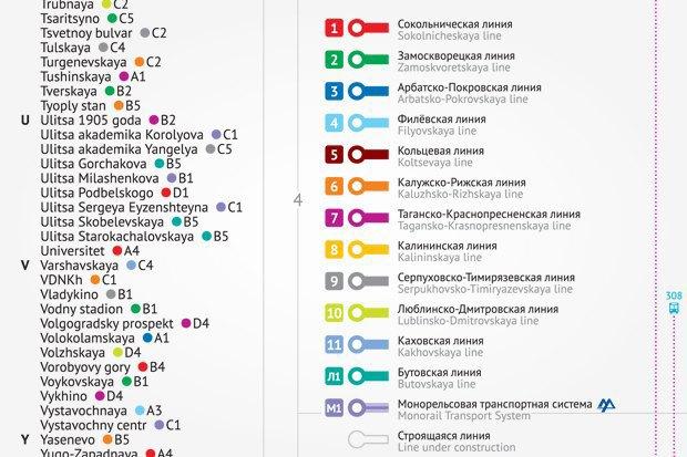 Карты на стол: Голосование за новую схему московского метро. Изображение № 14.