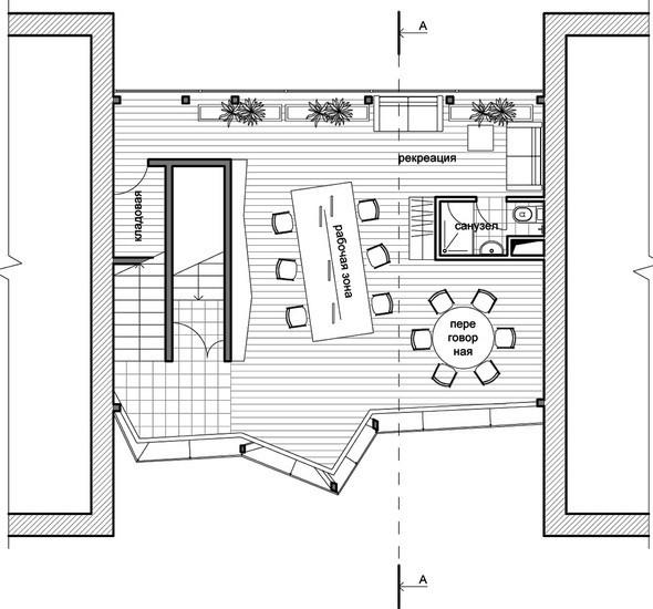 Проект первого этажа. Изображение № 7.
