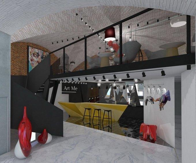 НаКазанской улице запускают пространство ArtMe сошколой моды ибьюти-баром. Изображение № 1.